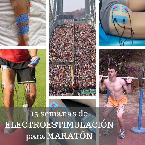 Entrenamiento Compex maratón