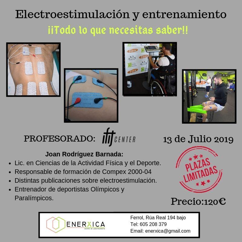 CURSO ONLINE ELECTROESTIMULACION