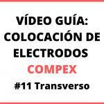 Electrodos electroestimulación para transverso